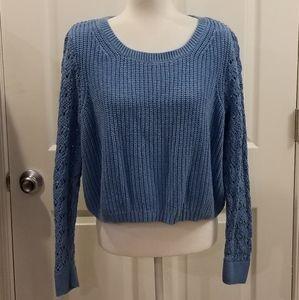 LC Lauren Conrad cornflower blue sweater